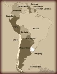 Palo Santo Map