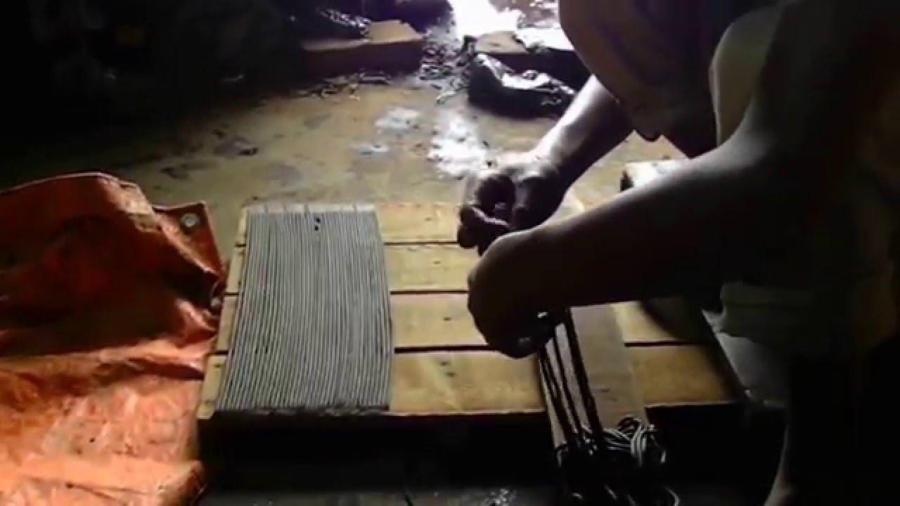 La fabrication des encens