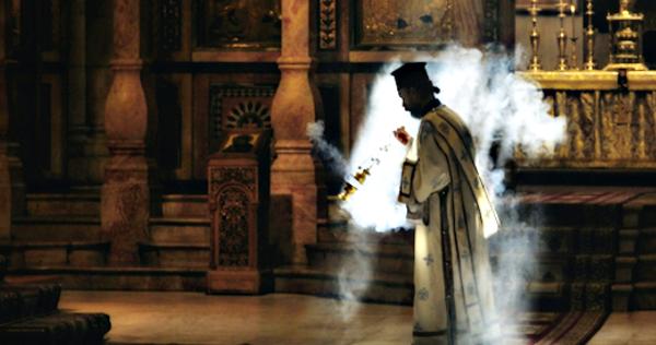L'utilisation d'encens dans l'église