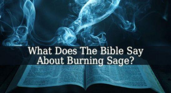 Que dit la Bible à propos de Burning Sage?