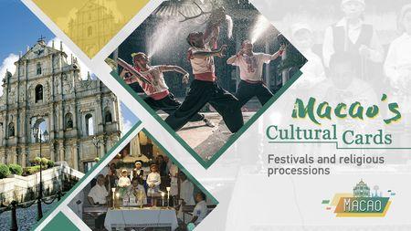 Cartes culturelles de Macao: festivals et processions religieuses