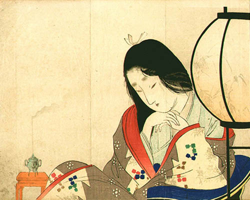 Écouter de l'encens japonais