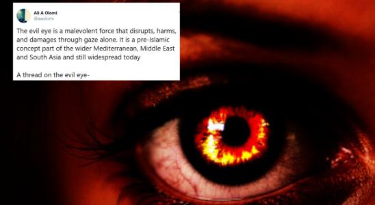 Ce professeur musulman a fait un sujet sur «Nazar» et merde, je suis plus paranoïaque que jamais