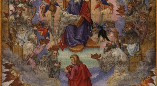 Posture de communion: exemples tirés du livre de l'Apocalypse