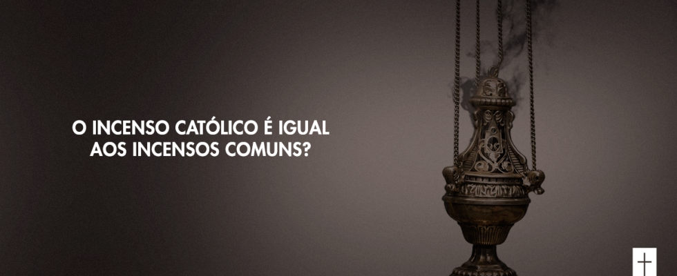 L'encens catholique est-il le même que l'encens ordinaire?