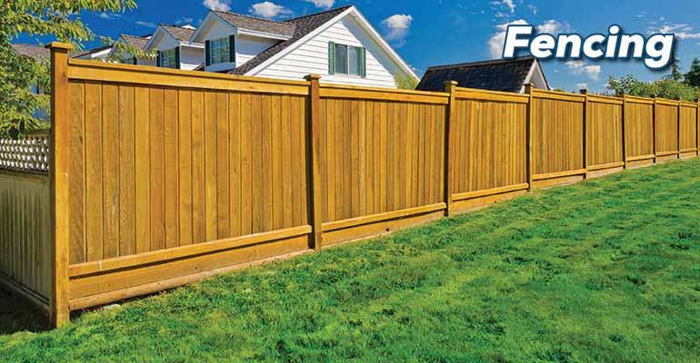 clôture en cèdre ~ Parr Lumber