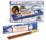 Bâtonnets d'encens Satya Nagchampa 15 g (12 sachets)