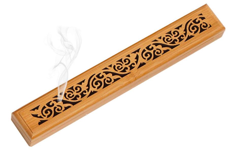 Brûleur d'encens Grace en bambou