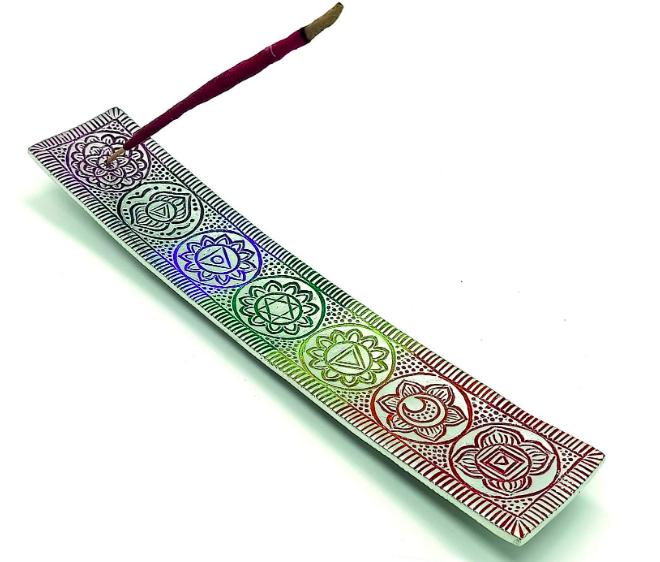 Porte-bâtonnet d'encens CALMVEDA Chakra