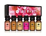 Huile parfumée P&J Trading | Romance Lot de 6 - Huile parfumée pour la fabrication de savon, diffuseurs, fabrication de bougies, lotions, soins capillaires, slime et parfum d'ambiance