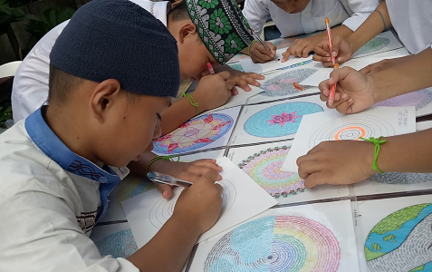 Mandala making: Lived experiences and reflections of my co-workers