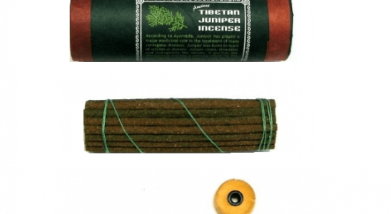 Tibetan juniper incense