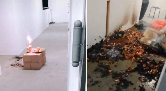 La combustion d'encens du voisin HDB entraîne un incendie dans un couloir, un résident s'inquiète pour la sécurité
